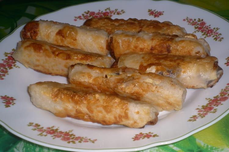Nems poulet, coco, citron vert et pâte de curry