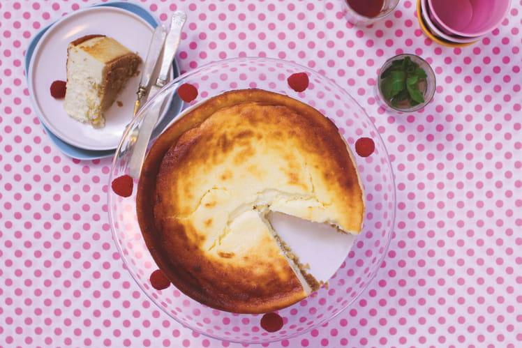 Cheesecake Keisskukhn ou Keiss Kuchen ou Kez Kukhn