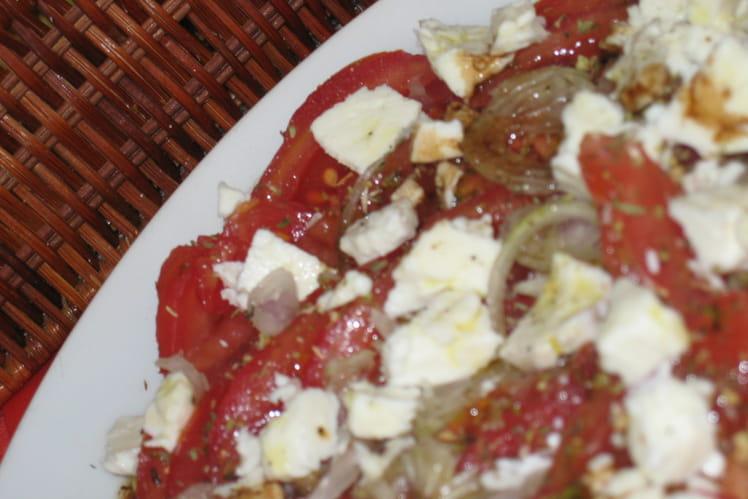 Salade de tomates et feta
