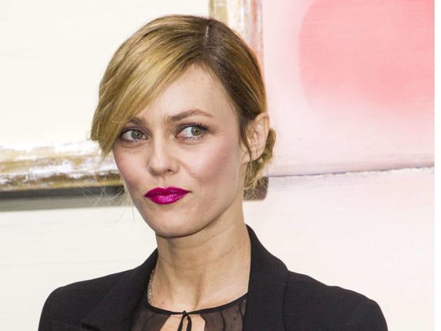 Vanessa Paradis: le chignon glam chic