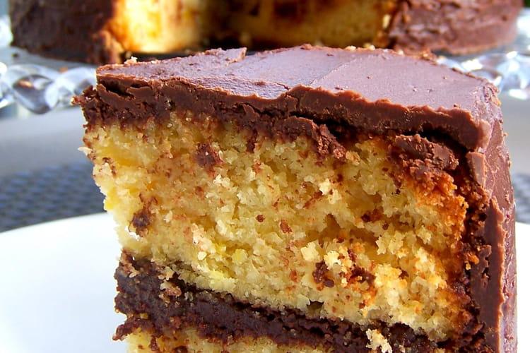 Gâteau aux poires, aux amandes et au chocolat!