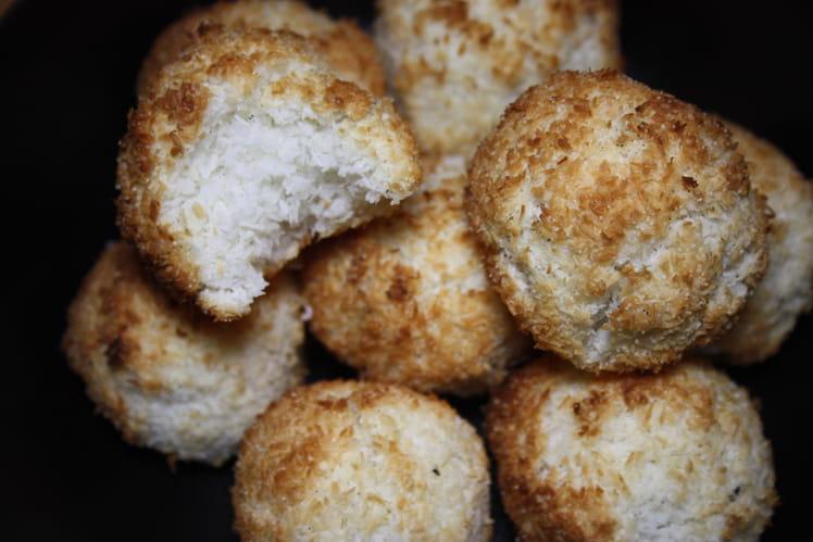 Rochers coco vegan et sans gluten