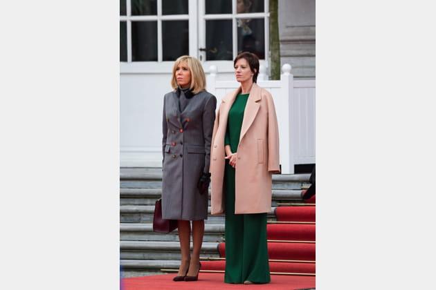 Brigitte Macron le 19novembre 2018