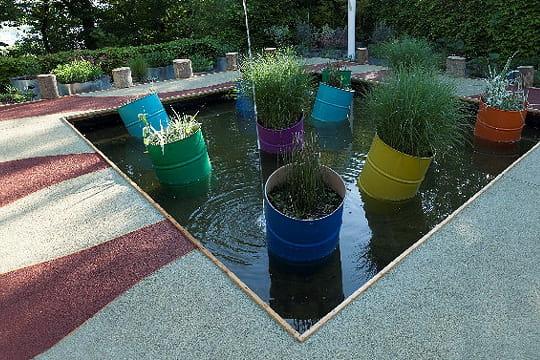 Le jardin pixellisé