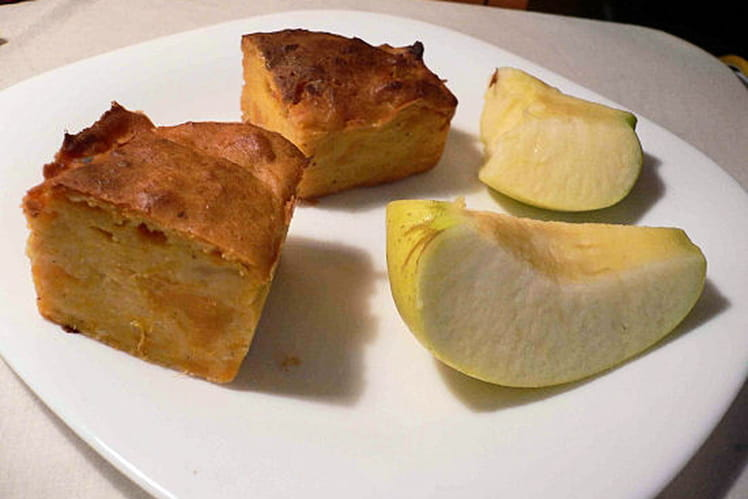Moelleux aux pommes et aux patates douces