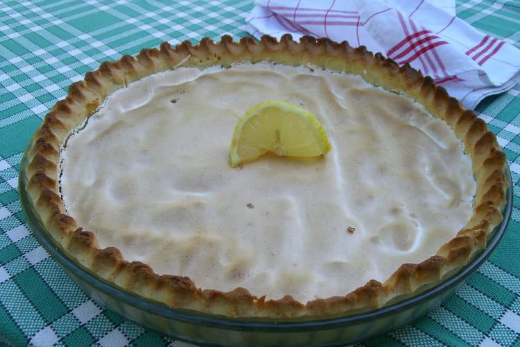 Tarte au citron meringuée 100% maison