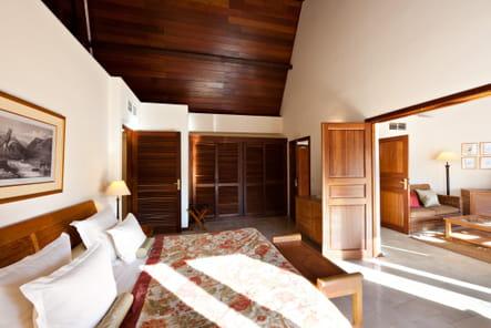 Chambre d'une suite au Saint-Alexis