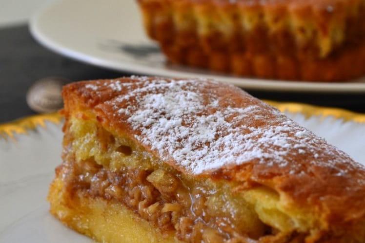 Gâteau yougoslave aux pommes et à la cannelle