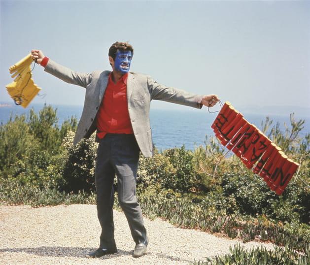 """Jean-Paul Belmondo 1965""""Pierrot le Fou"""""""