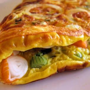 omelette à la japonaise