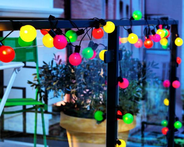 Guirlande color e solvinden d 39 ikea for Guirlande lumineuse exterieur ikea