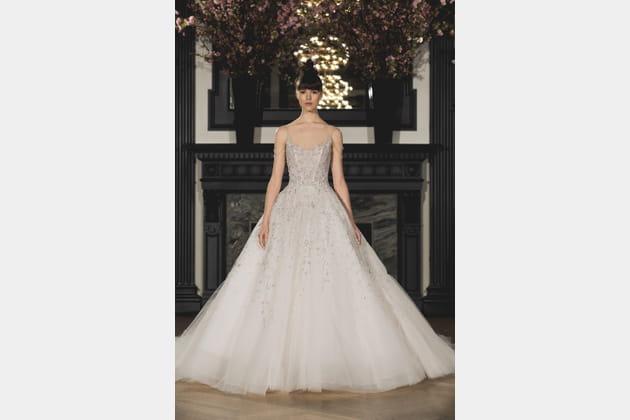 Robe de mariée romantique, Ines Di Santo
