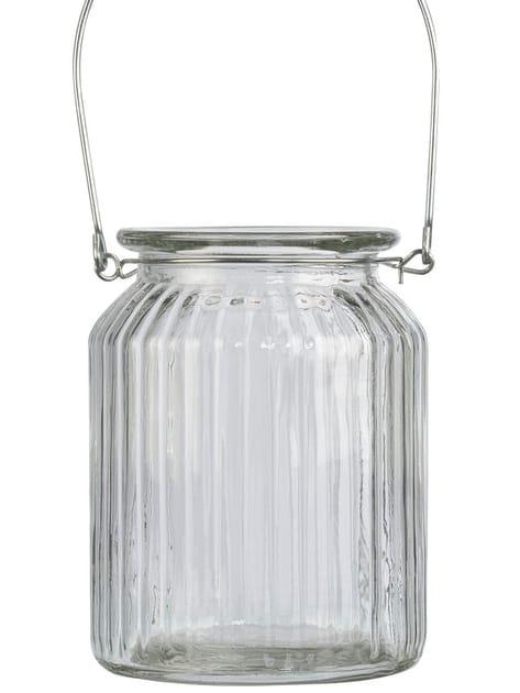 Photophore en verre à suspendre Jardin d'Ulysse