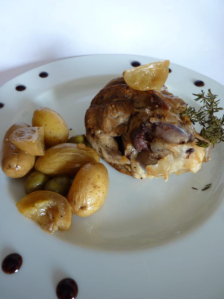 Recette de souris d 39 agneau confite citron et olive la - Comment cuisiner la souris d agneau ...