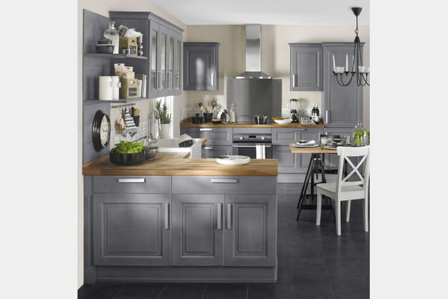 cuisine bistro par lapeyre. Black Bedroom Furniture Sets. Home Design Ideas