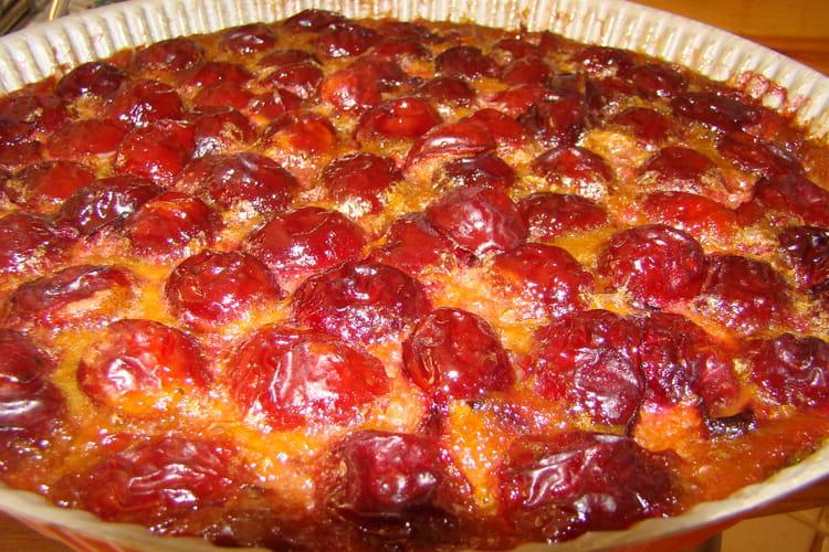 Gateau fondant aux prunes