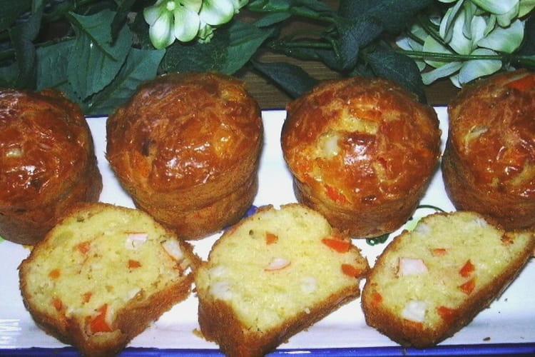 Cake au surimi et aux carottes