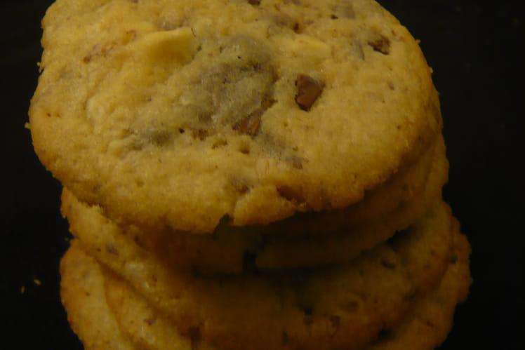 Cookies aux pépites deux chocolats