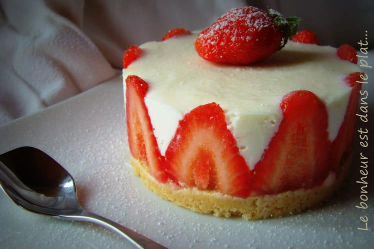Cheesecake citron-fraises