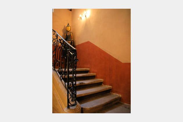 Des figures aux escaliers