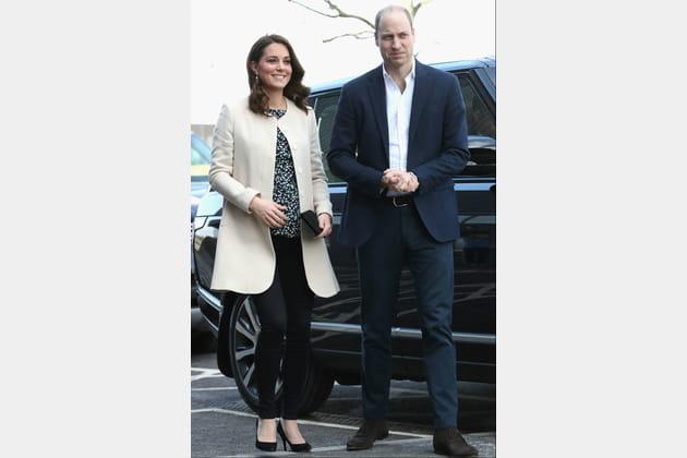 Kate Middleton le 22mars 2018