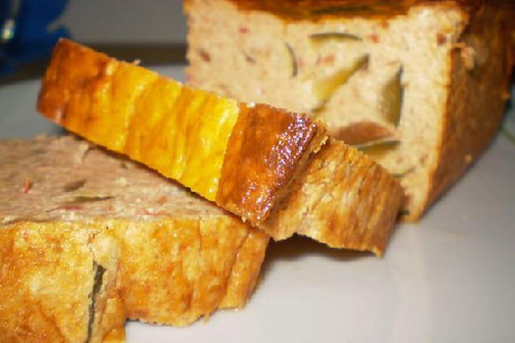 Cake à la ratatouille ultra simple