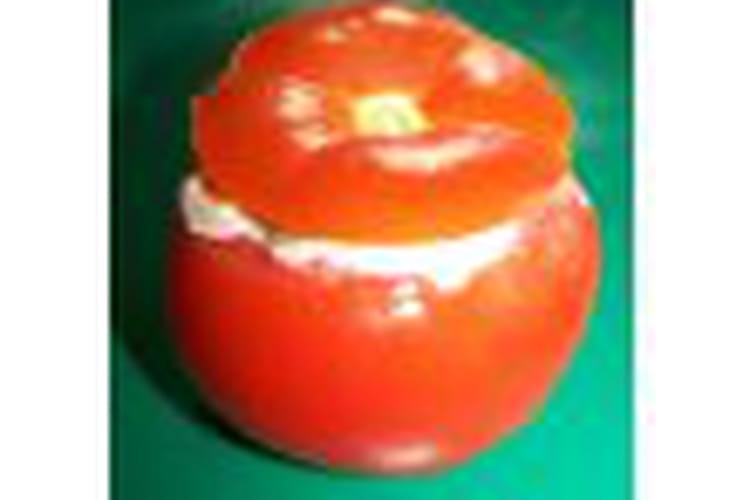 Tomates farcies de pâtisson