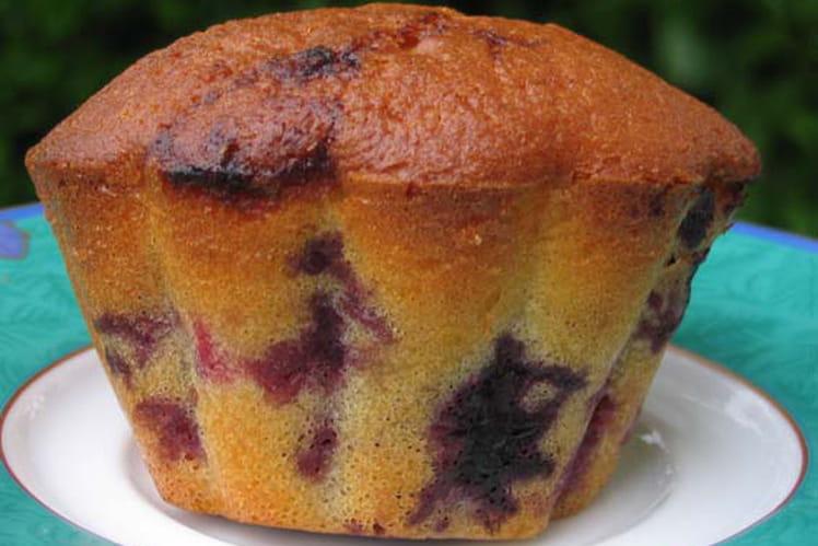 Muffins aux fruits rouges