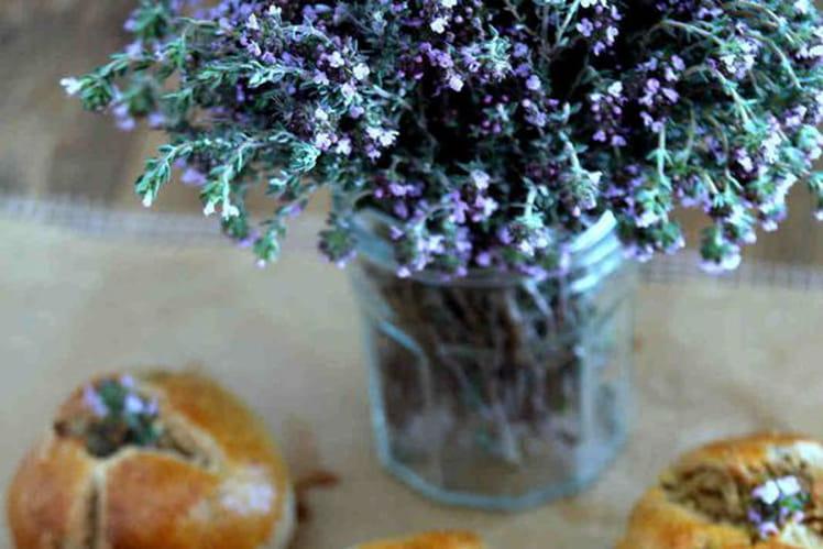 Petits pains à la fleur de thym igbas