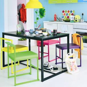 chaise color e de fly. Black Bedroom Furniture Sets. Home Design Ideas