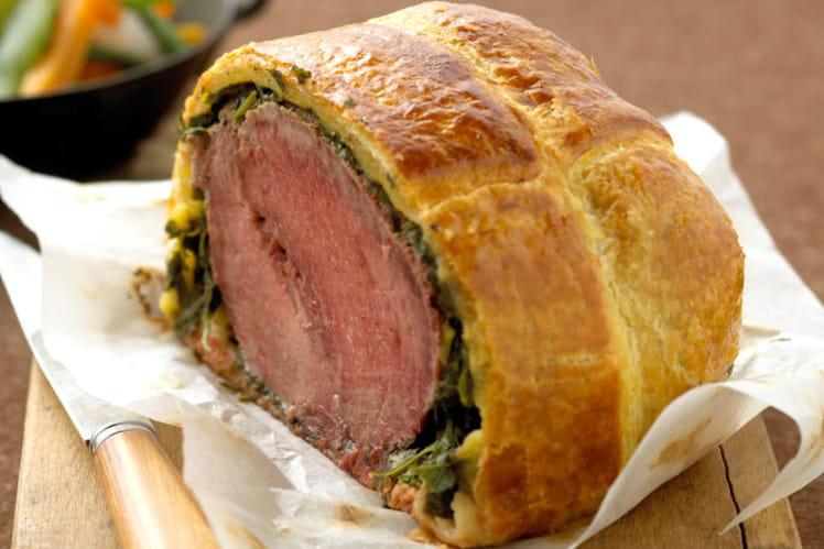 Filet de bœuf de Chalosse en croûte aux herbes