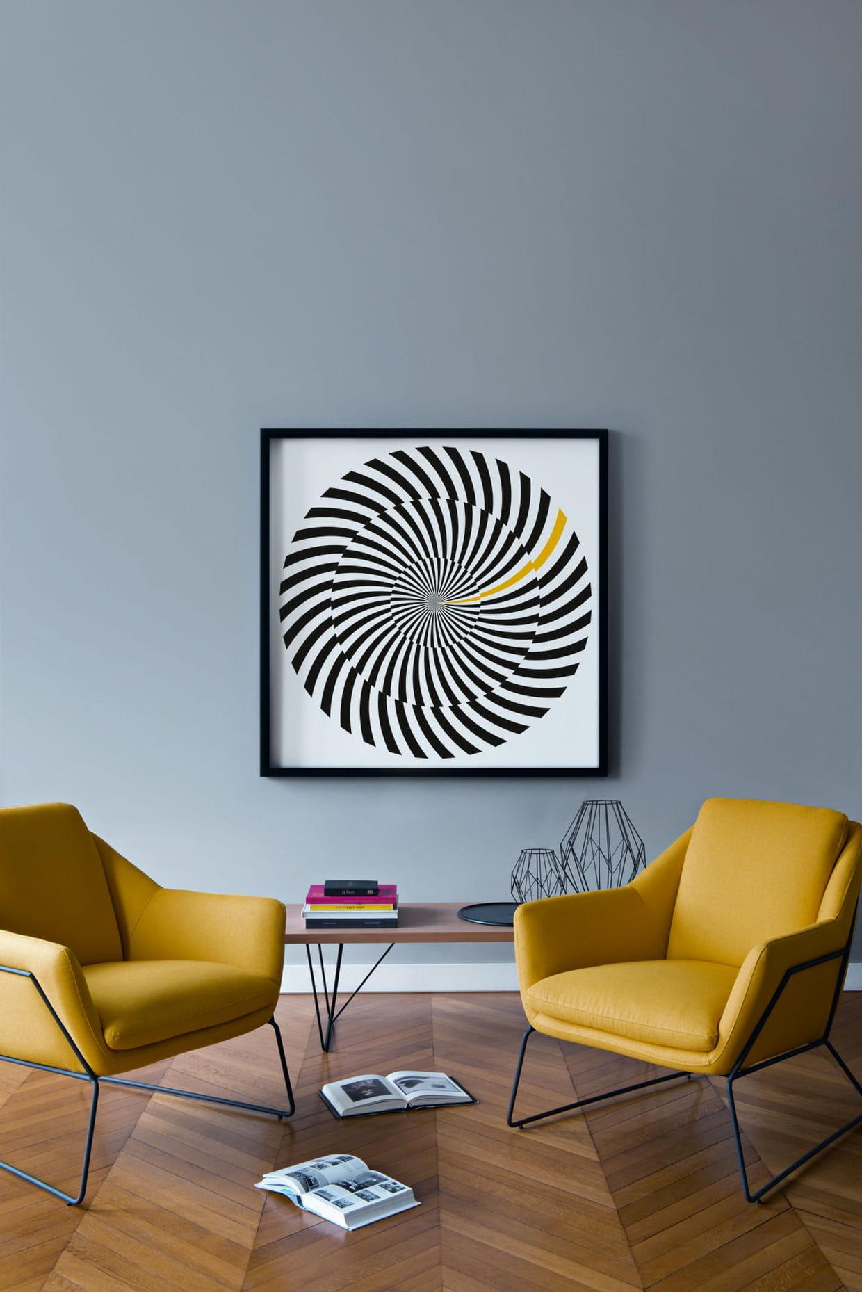Peinture Hypnotik Toit De Paris V33