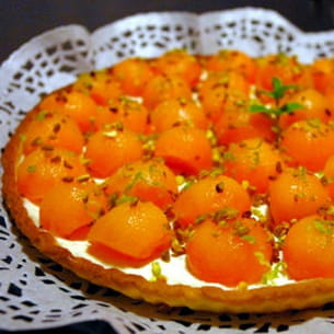 tarte melon-mascarpone