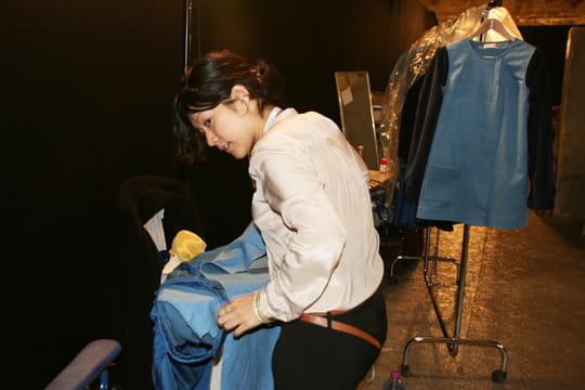 Fashion week prêt-à-porter automne-hiver 2011 : les coulisses du défilé Aganovich 8