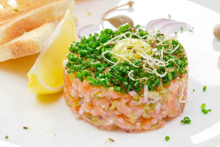 Tartare de saumon léger façon ProActiv