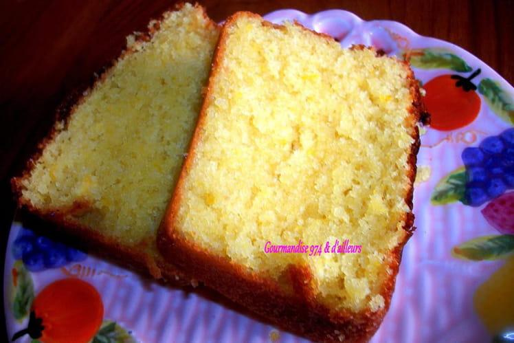 Cake moelleux à l'orange et liqueur anisette