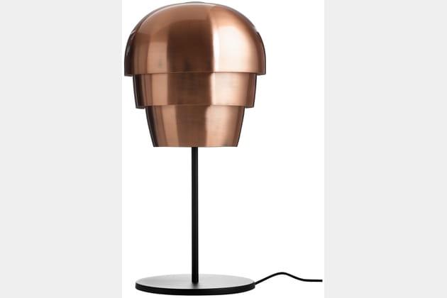La lampe de chevet en cuivre