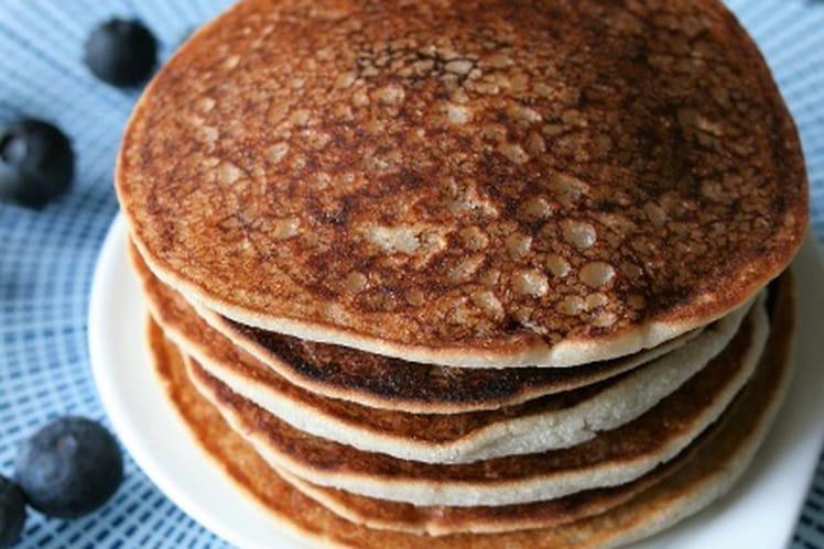 Pancakes à la farine de coco