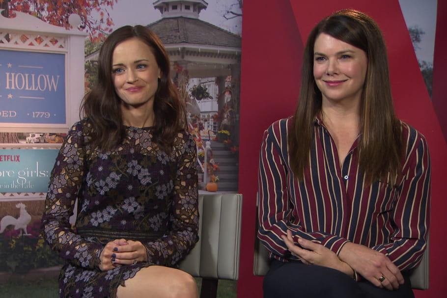 Gilmore Girls: Alexis Bledel et Lauren Graham racontent leur retour à Stars Hollow [VIDEO]
