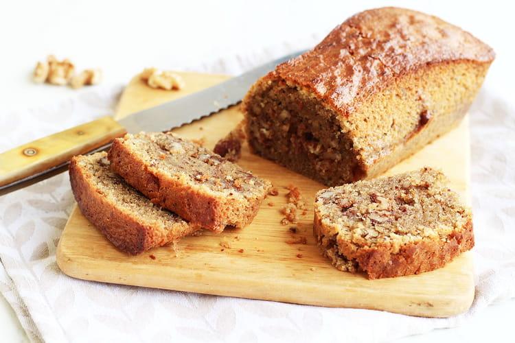 Cake fondant au noix et au café
