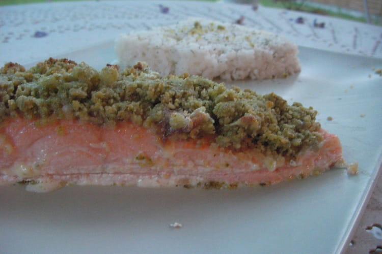 Saumon en croûte de pesto