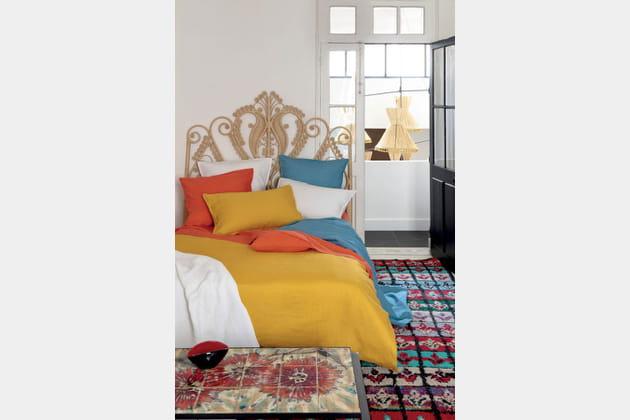 parure de lit vitamin e d 39 olivier desforges. Black Bedroom Furniture Sets. Home Design Ideas