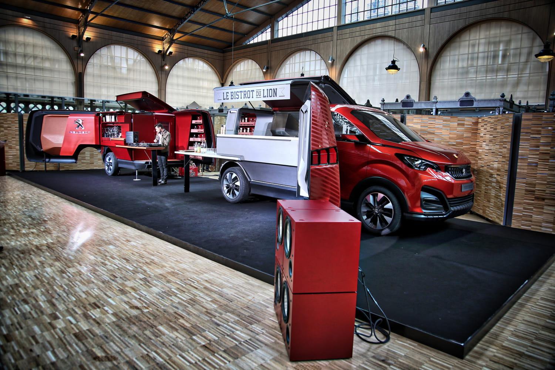 Peugeot dévoile son foodtruck de luxe