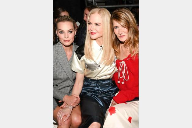 Margot Robbie, Nicole Kidman et Laura Dern
