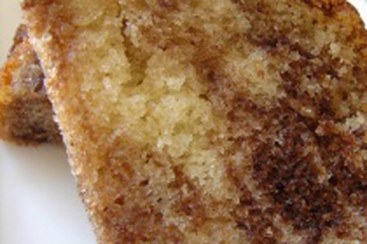 Cake marbré simple