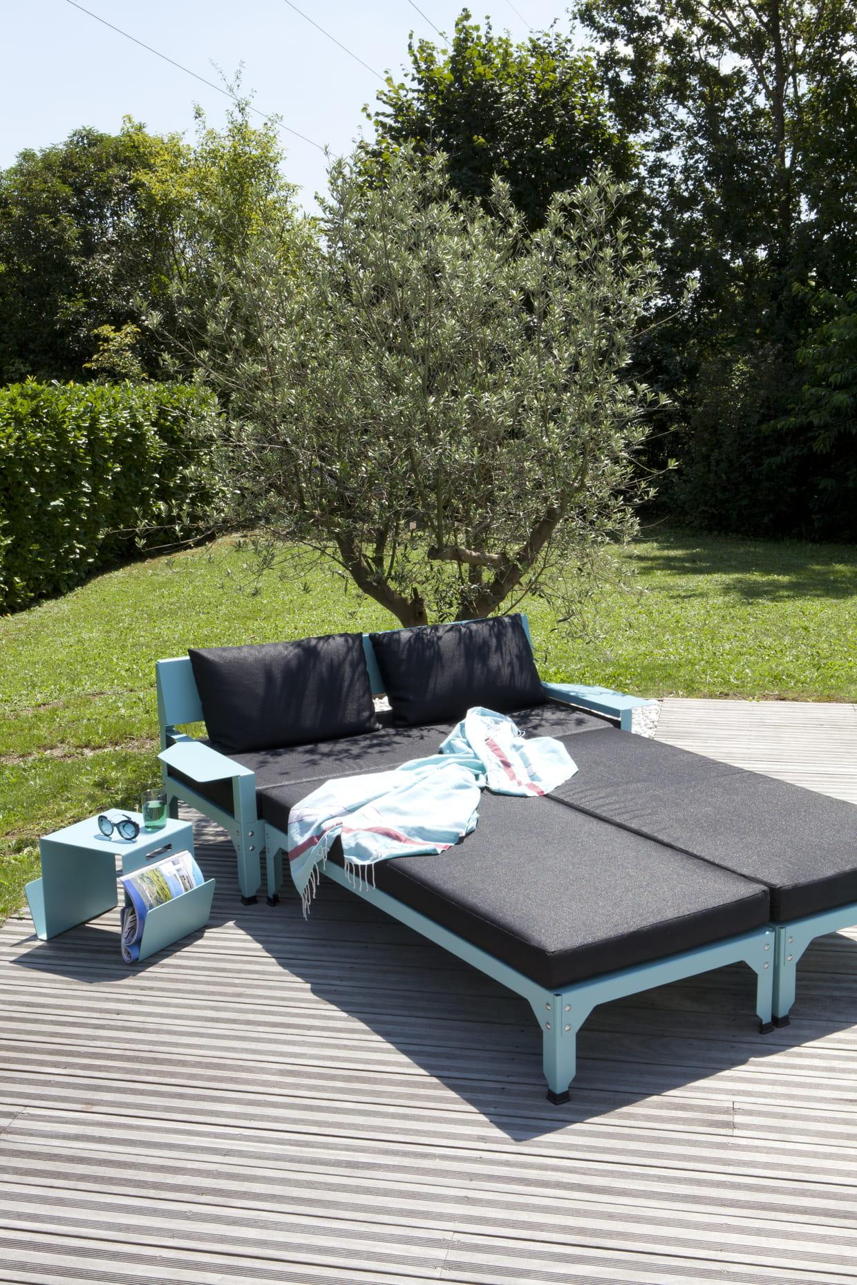 canap et extension hegoa par luc jozancy pour matiere grise. Black Bedroom Furniture Sets. Home Design Ideas