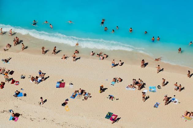 """Tuul et Bruno Morandi - """"Zante beach"""""""