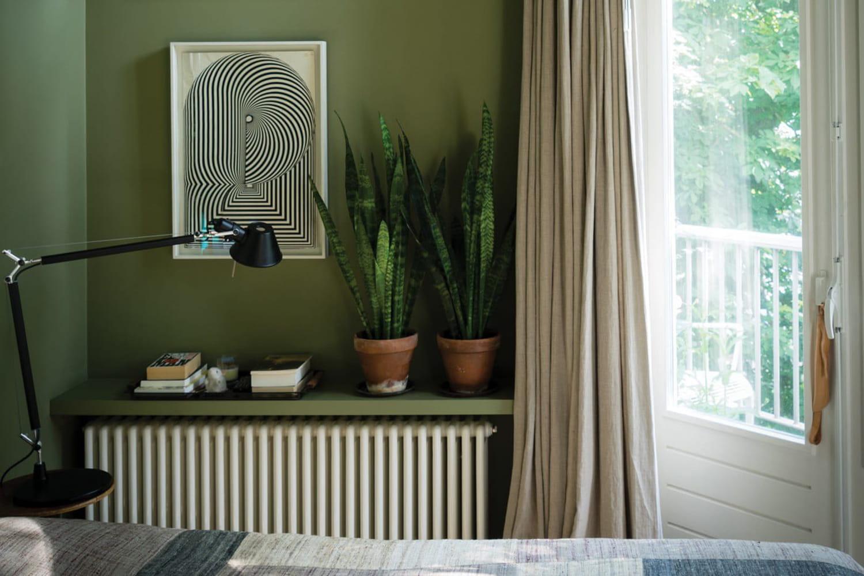Le vert kaki en déco: couleur nuancée facile à oser