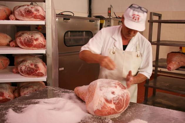La salaison de la viande
