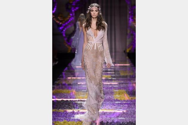 Robe de mariée Versace, sexy